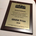 IBMM Prize for Richard Wilhelm
