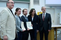 Award Ceremony at Univ. Wien