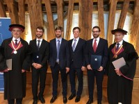 Four new Masters of Science