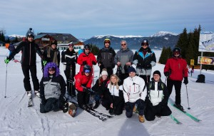 The group at Stuhleck