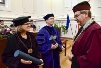 Ulrike receives her honorary doctorate